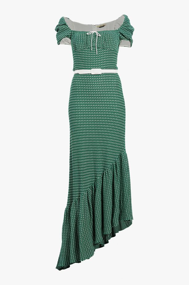 asymmetrical crochet dress ideas for wedding guest