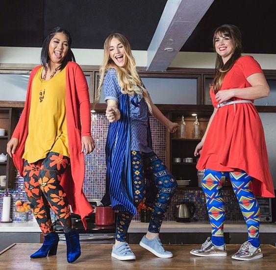 Lularoe leggings outfit ideas for women
