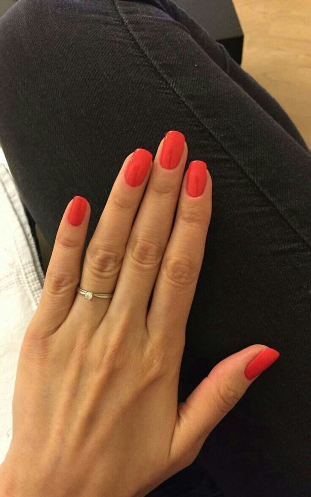 orange acrylic nail designs for summer