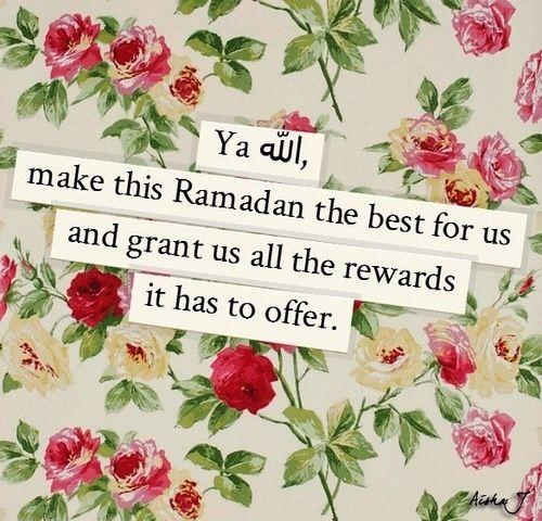 Ramadan dua status image
