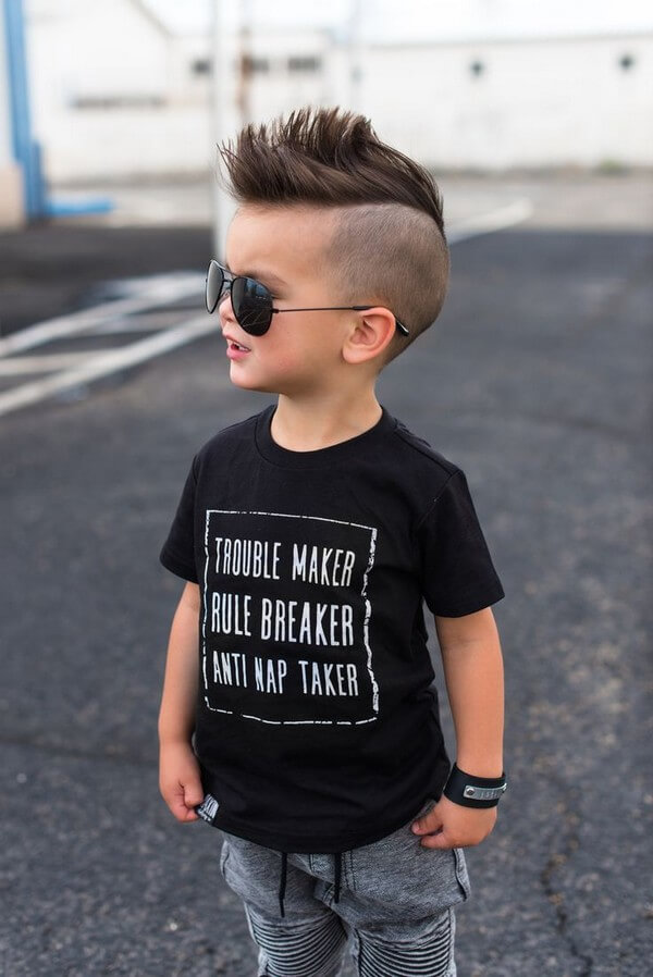 toddler boy spiky fringe haircut