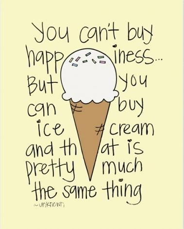 ice cream sayings