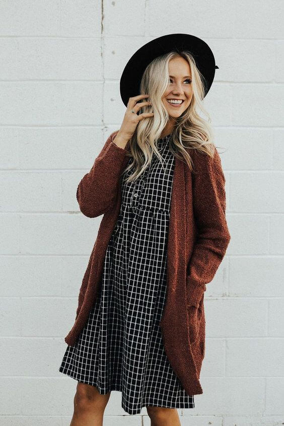 cardigan outfit ideas for fall