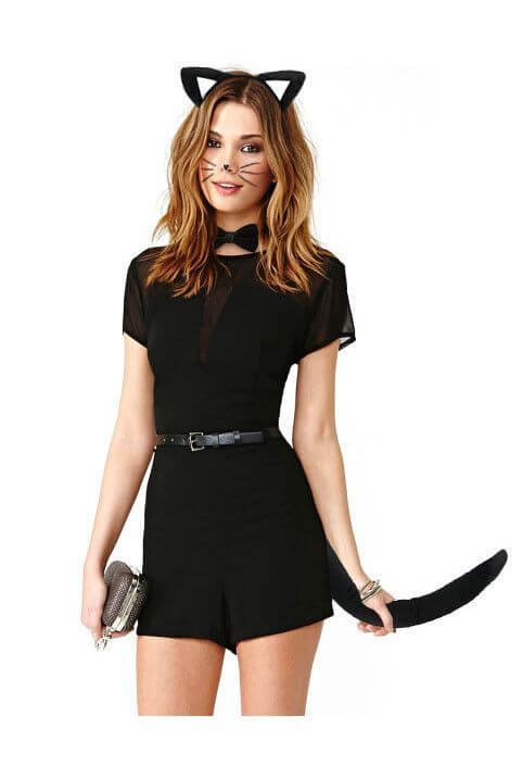 cat halloween costume ideas for girls