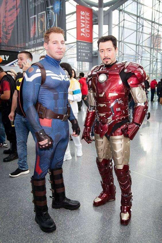 comic con cosplay marvel superheros