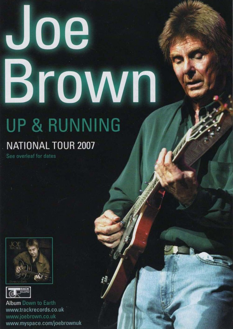 Joe Brown played Newport's Riverfront Theatre in May 2007.
