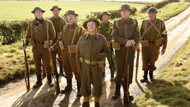 Toby Jones and Bill Nighy lead from the front in the 2016 big screen version of Dad's Army