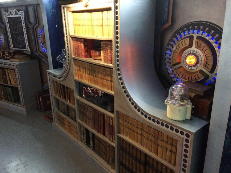 The Doctor Who, TARDIS set at BBC Roath Lock Studio's, Cardiff