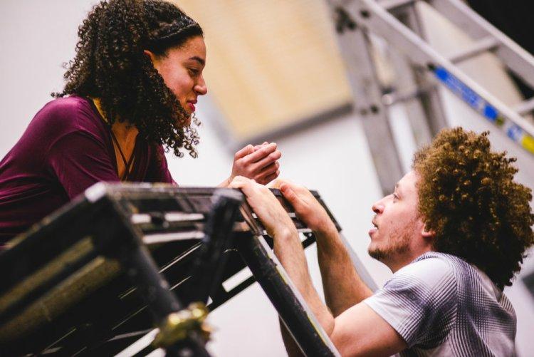 Aamira Challenger and Connor Allen in Omnidaze Production's Romeo & Juliet Picture: Kirsten McTernan