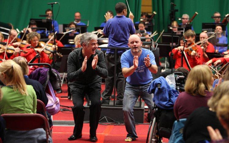 BBC NOWrelaxed performances. Photographs by B.Skovbro.