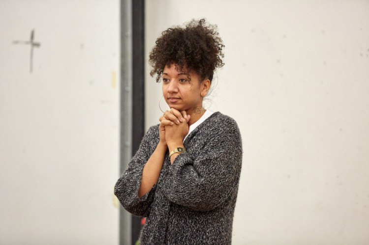 Alexandria Riley stars in The Cherry Orchard at The Sherman Theatre, Cardiff Photos:Mark Douet