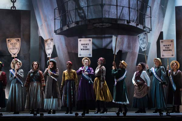 A scene from Tiger Bay - The Musical at Wales Millennium Centre. Photo: Polly Thomas