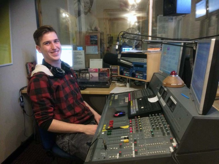 Radio Cardiff's Drive Time programme is under way.