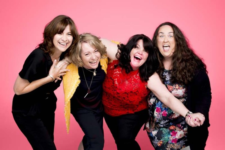 Jayne McKenna, Emily Joyce, Rachel Lumberg, Alison Fitzjohn in The Band which comes to Wales Millennium Centre in January, 2018. Picture: Matt Crockett