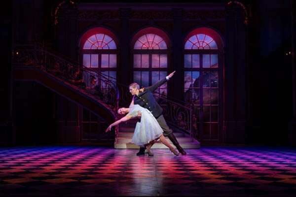 A scene from the UK tour of The Sound of Music at Cardiff's New Theatre.