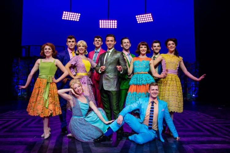 A scene from Hairspray The Musical playing at Bristol Hippodrome