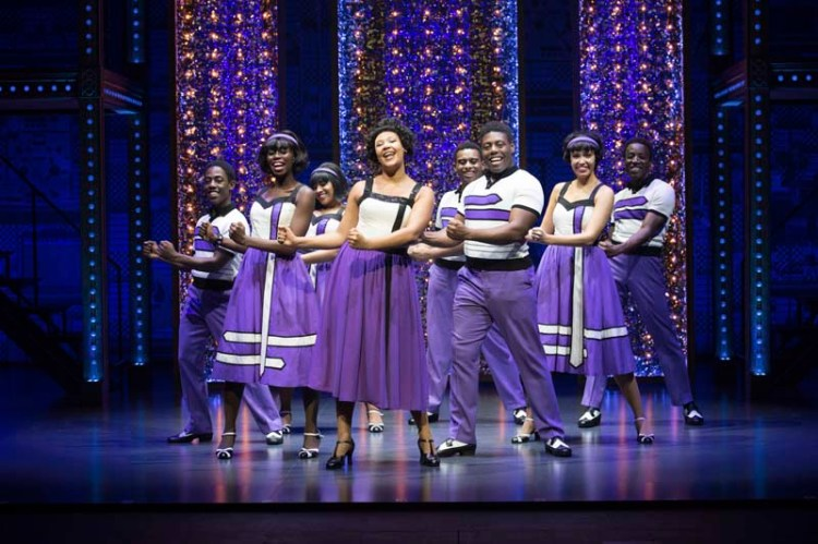 The Company of Beautiful, the Carole King Musical, coming to Bristol Hippodrome during April, 2018 . Photo by Craig Sugden
