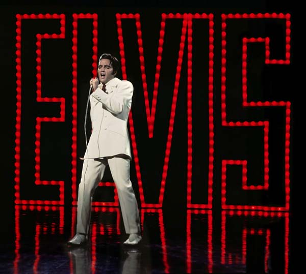 A scene from Elvis Presley's 68 Comeback Special which celebrates its 50th anniversary with screenings across UK cinema's during August 2018