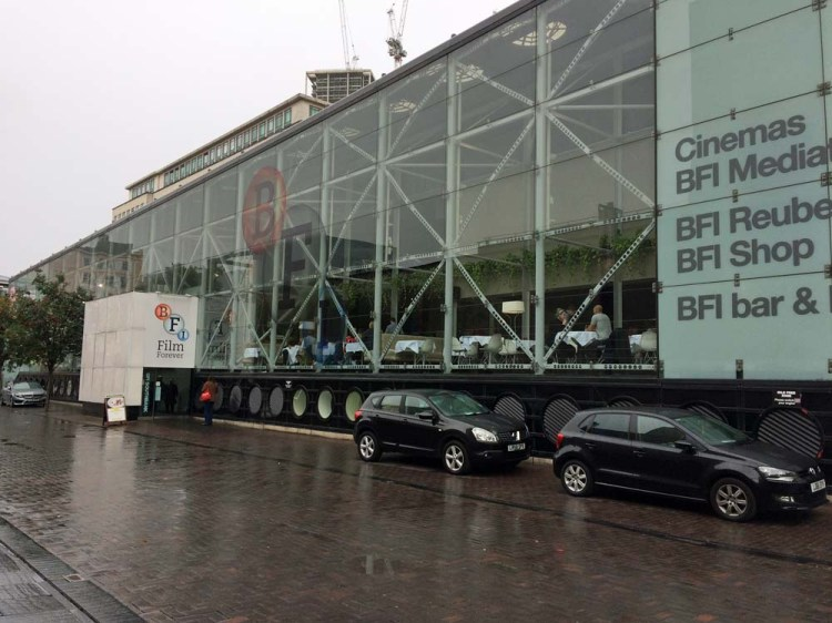 THe BFI in London's South Bank hosted the launch event for  the Hitch-Hikers Guide To The Galaxy  Blu-Ray Photo: Andy Howells