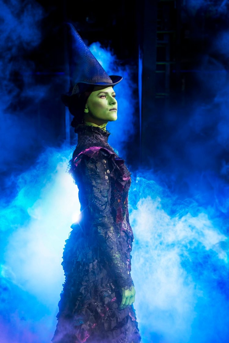 Amy Ross as Elphaba in Wicked, which runs at Wales Millennium Centre until November 24, 2018. Photos by Matt Crockett
