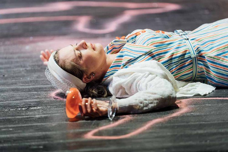 Wiltshire Creative and Wales Millennium Centre's production of  The Mirror Crack'd   which plays Cardiff's New Theatre from March 26 until April 6, 2019.