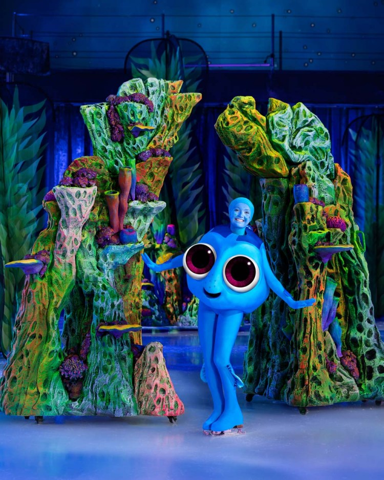 Finding Dory  forms part of Disney on Ice at Cardiff's Motorpoint Arena which runs from April 24 - 28, 2019