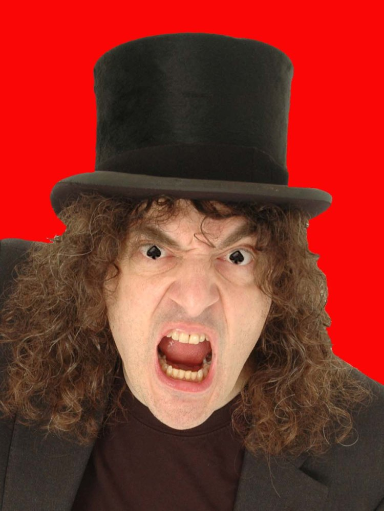 Jerry Sadowitz at Newport Riverfront on 8 May, 2019