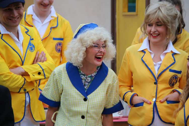 Victoria Walters features in Everyman Theatre's presentation of  Hi-De-Hi!  which opens the Cardiff Open Air Theatre Festival summer season at Sophia Gardens from June 27 to July 6, 2019.