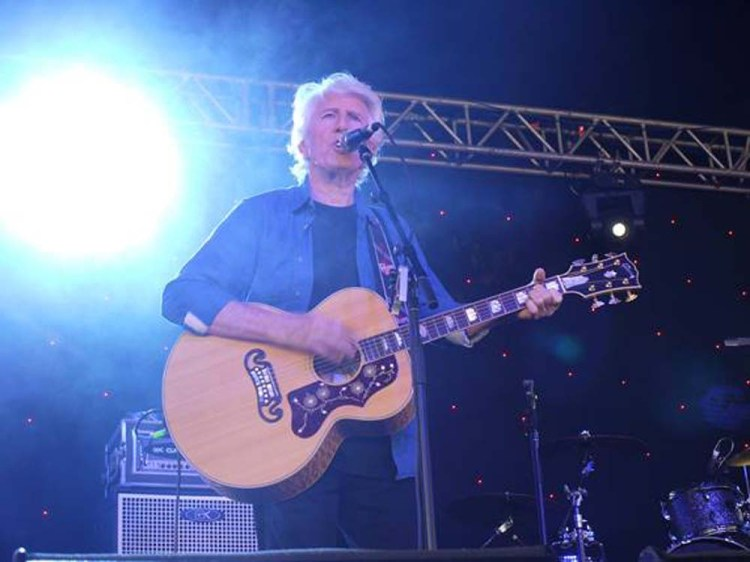 Graham Nash brings his UK tour to Cardiff's Wales Millennium Centre on July 20.
