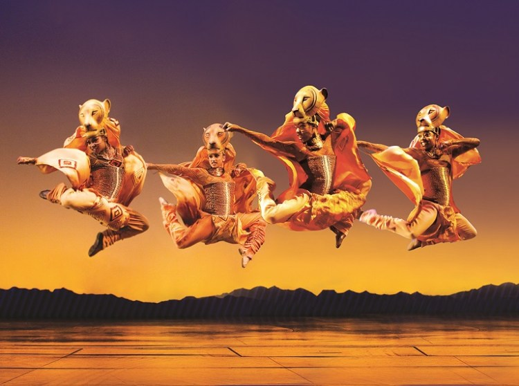 A scene from Disney's  The Lion King . Credit Johan Persson
