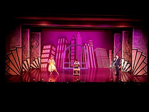 A scene from Glass Ceiling Theatre's Thoroughly Modern Millie which plays at the Dolman Thetre Newport from September 5 to 7, 2019.