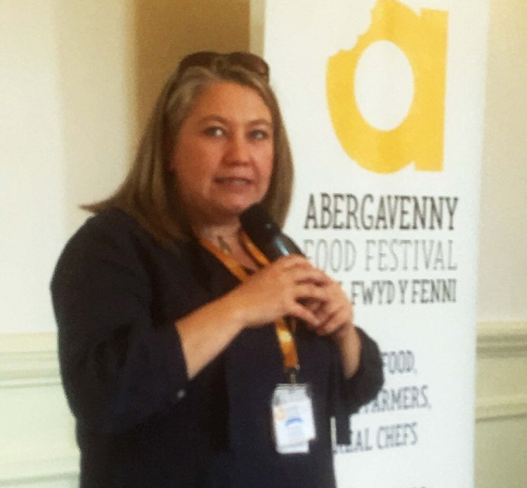 "CEO Aine Morris described Abergavenny Food Festival as having a ""magical feel"" PHOTO: entertainment South Wales."