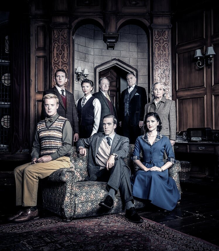 Susan Penhaligon (top right) stars in The Mousetrap at Cardiff's New Theatre until Saturday October 5, 2019. Photograph by Johan Persson