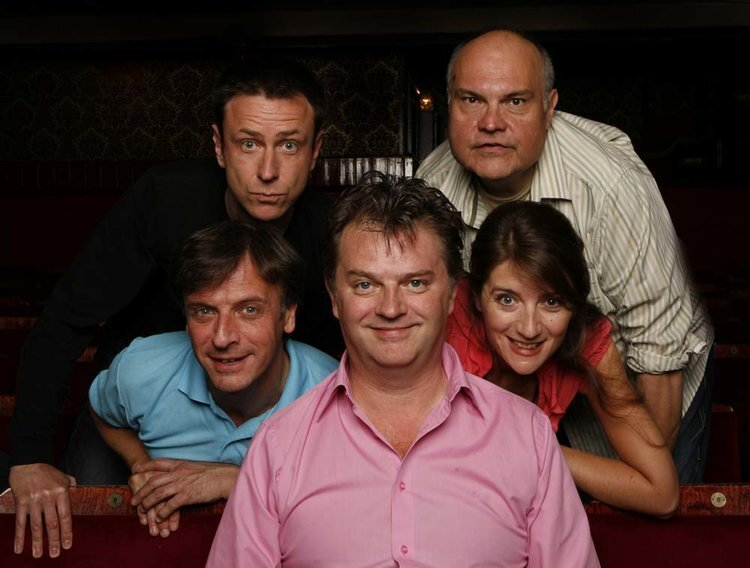 Paul Merton's Impro Chums was a comedy highlight at Newport's Riverfront Theatre.