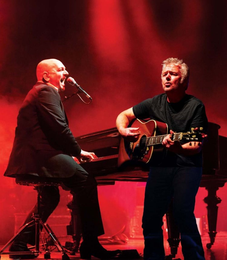 Elio Pace and David Brown brought the music of Billy Joel to The Riverfront