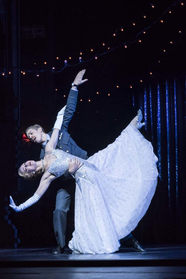 Matthew Bourne's Cinderella relocated the story to World War II Photo Johan Persson