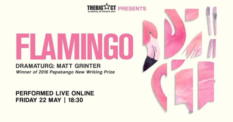 The Big Act are to present Flamingo online from 18:30 on Friday May 22, 2020.