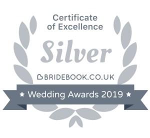 Bridebook 2019 Silver Award