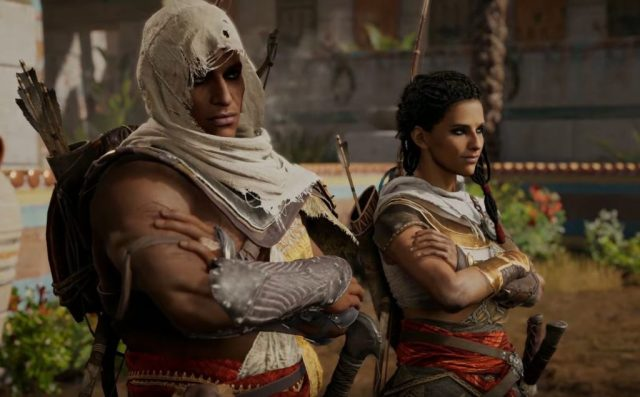 Assassins-Creed-Origins-bayek and aya