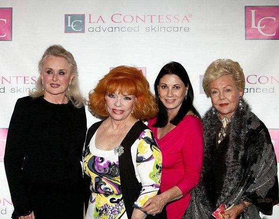 Caldwell Sutherand Bogert, Jacque Heebner, Judith Mancini & Judy Broumand - Hostesses at Contessa Skin Care Launch
