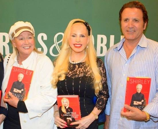 Diane Ladd, Brenda Dickson & Frank Stallone at Book Signing