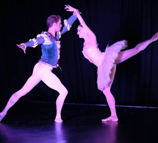 ABT artists James Whitside and Gillian Murphy dancing from Swan Lake - Photo Credits:  Brandon Clark