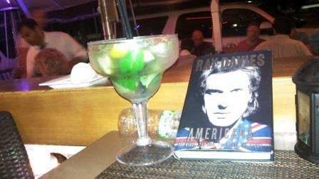 I read much of the book in South Beach Miami, far from New Orleans, but a city with similar industrial sized mixed drinks