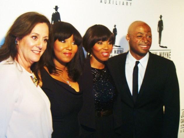 Anita Swift, Princesses Zaziwe & Zamaswazi, and JR Martinez