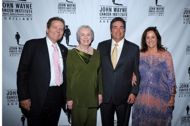 Patrick Wayne, Marilou Terpenning, Dan Hay and Anita Swift