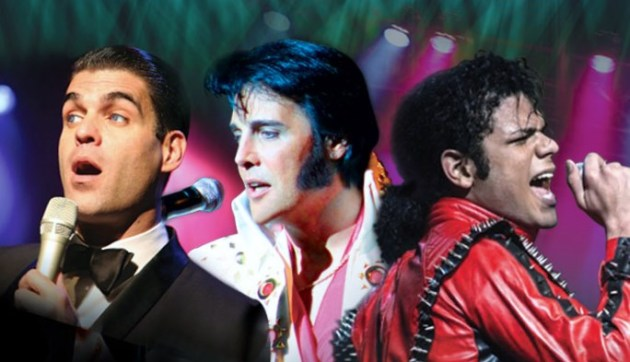 "WE 3 KINGS ""Sinatra, Elvis, Michael Jackson"" tribute performers at El Portal Theatre"