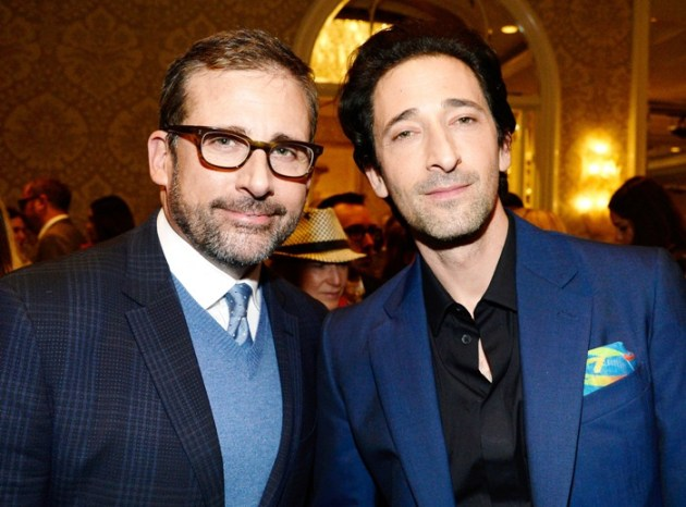 Steve Carell & Adrian Brody at BAFTA Tea Party