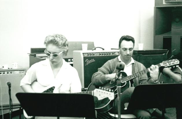 Carol Kaye and Bill Pitman