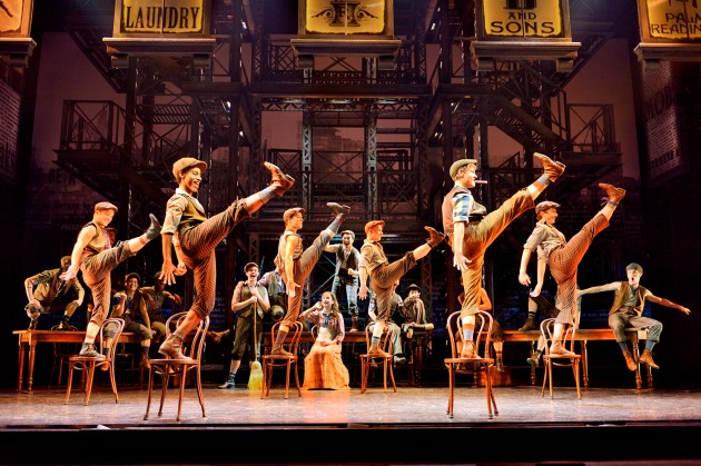 NEWSIES (photo credit Disney Theatrical Productions)