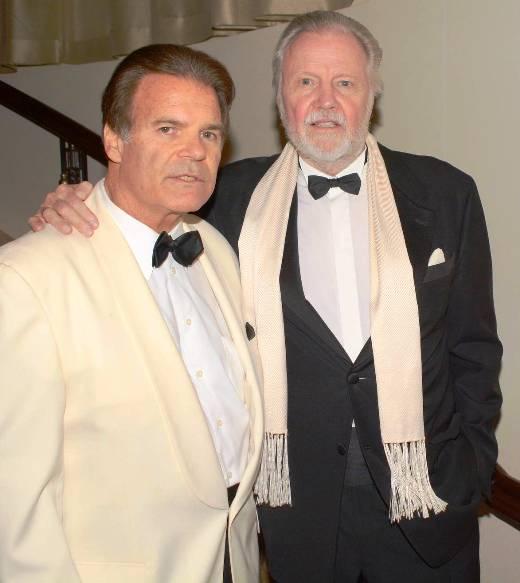 Edward Lozzi & John Voight at Night of 100 Stars